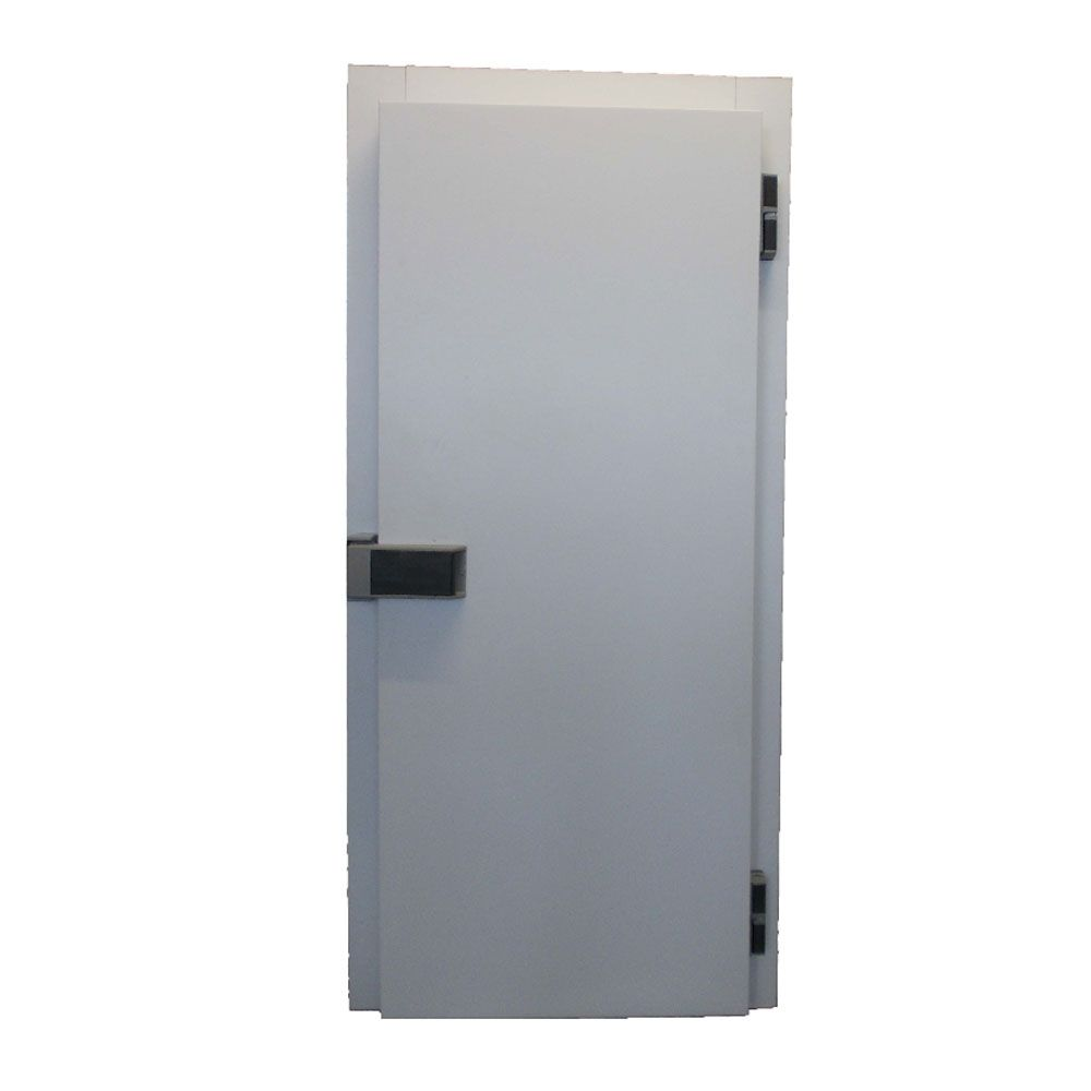 Cold room hinged chiller door and frame for Room door frame