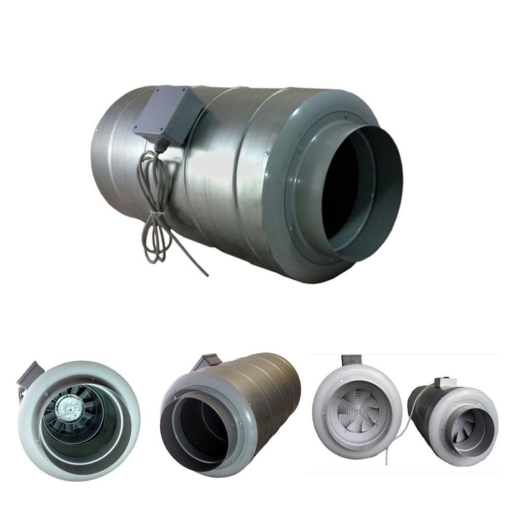 Inline Silent Duct Fan Silencer Combined