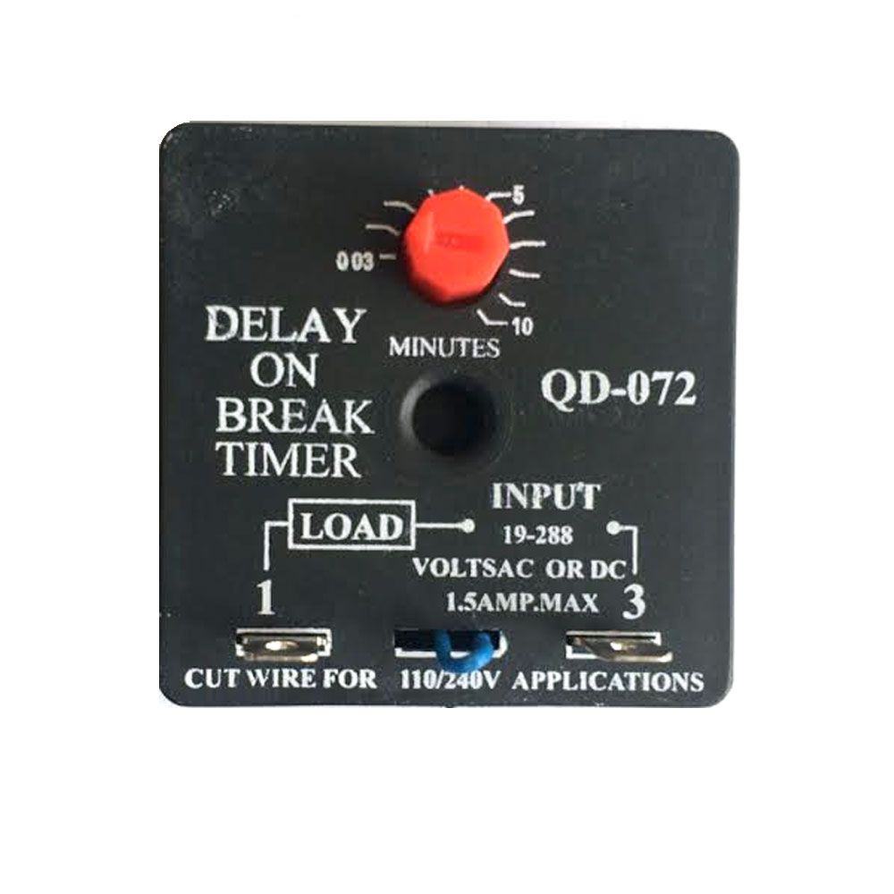 Delay On Break Timer Qd 072 Eqvsupco Relay Electrical With Timers