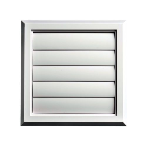 External Gravity Flap Grille With Spigot & Back Draft Shutter