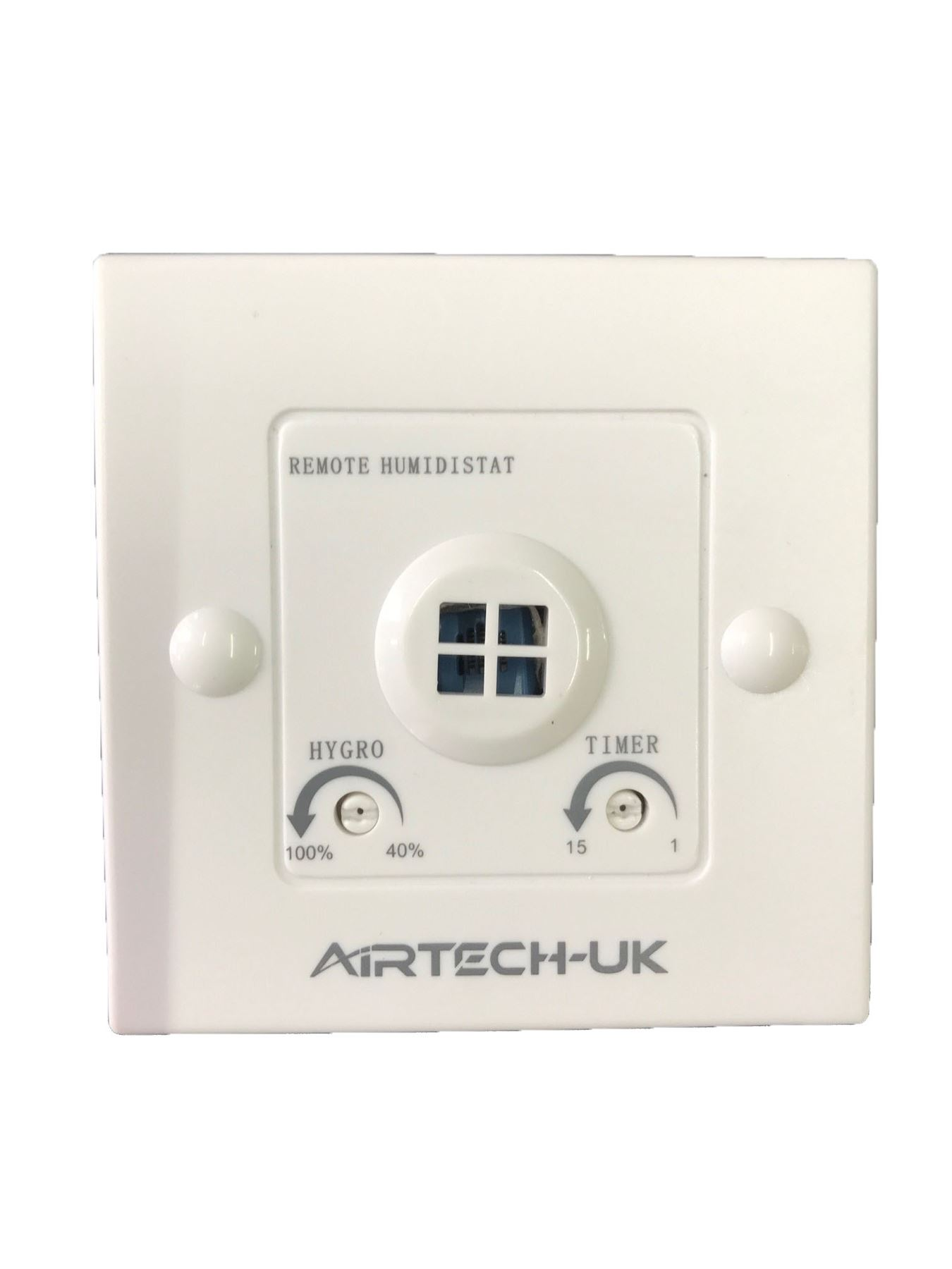 Bathroom Extractor Fan With Light: Extractor Fan Inline Bathroom Run On Timer Humidity Sensor