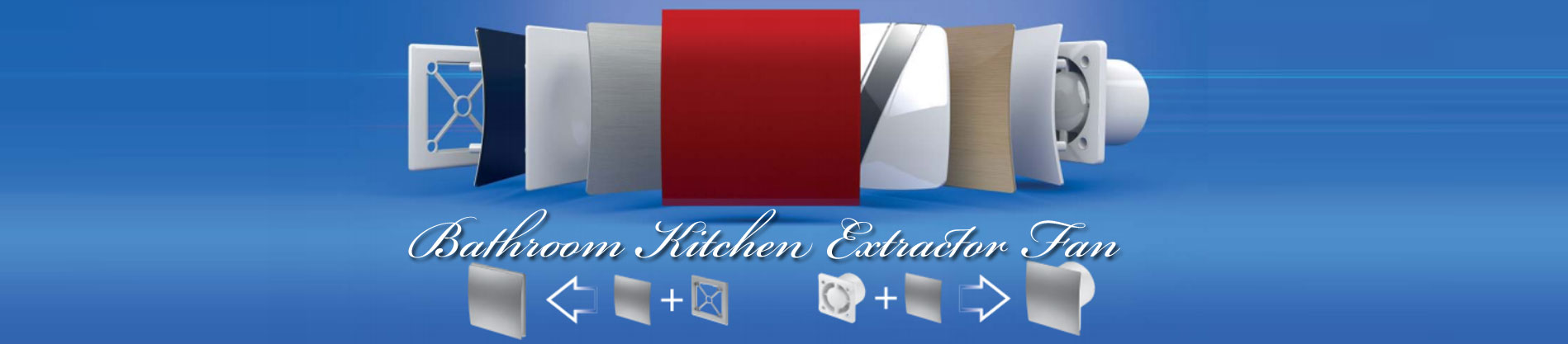 Bathroom Kitchen Extractor Fan