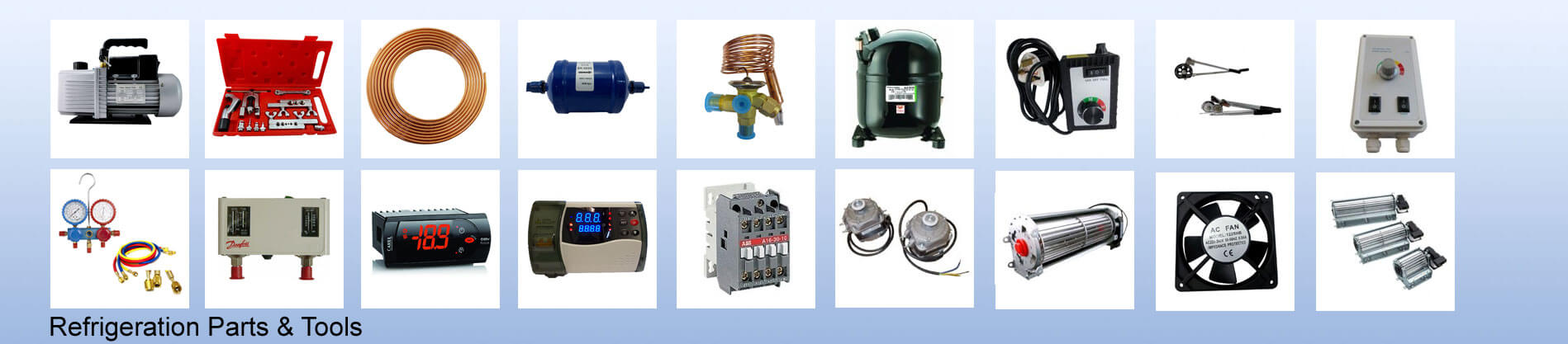 Refrigeration Parts & Tools